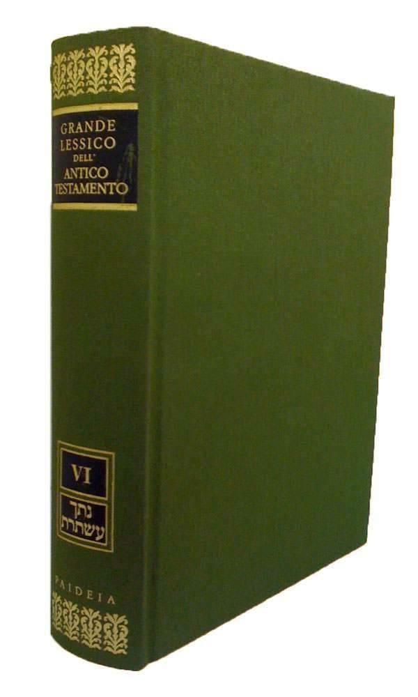 Grande lessico dell'Antico Testamento vol.5 Mjm-Njr