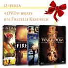"""Offerta 4 DVD: """"Courageous"""" """"Fireproof"""" """"Affrontando i giganti"""" """"War Room"""""""