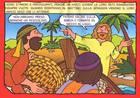 La pesca miracolosa - Storia a poster da colorare (Pieghevole) [Poster]